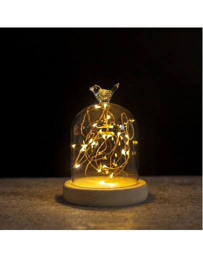 火樹銀花小鳥造型LED夜燈