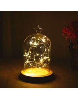 火樹銀花星星頭造型LED夜燈