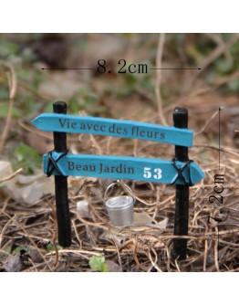 路標水桶微景觀花插