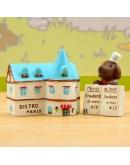 廚房餐廳廣告微景觀創意花插