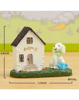 小狗水桶房子微景觀創意花插