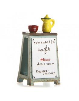 咖啡廣告牌園藝微景觀創意花插